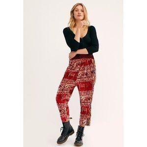 Free People   Fes Velvet Pants